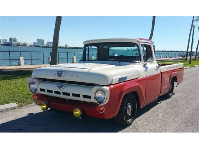 Picture of '57 F100 located in Cadillac Michigan - $20,495.00 Offered by  - O2S1