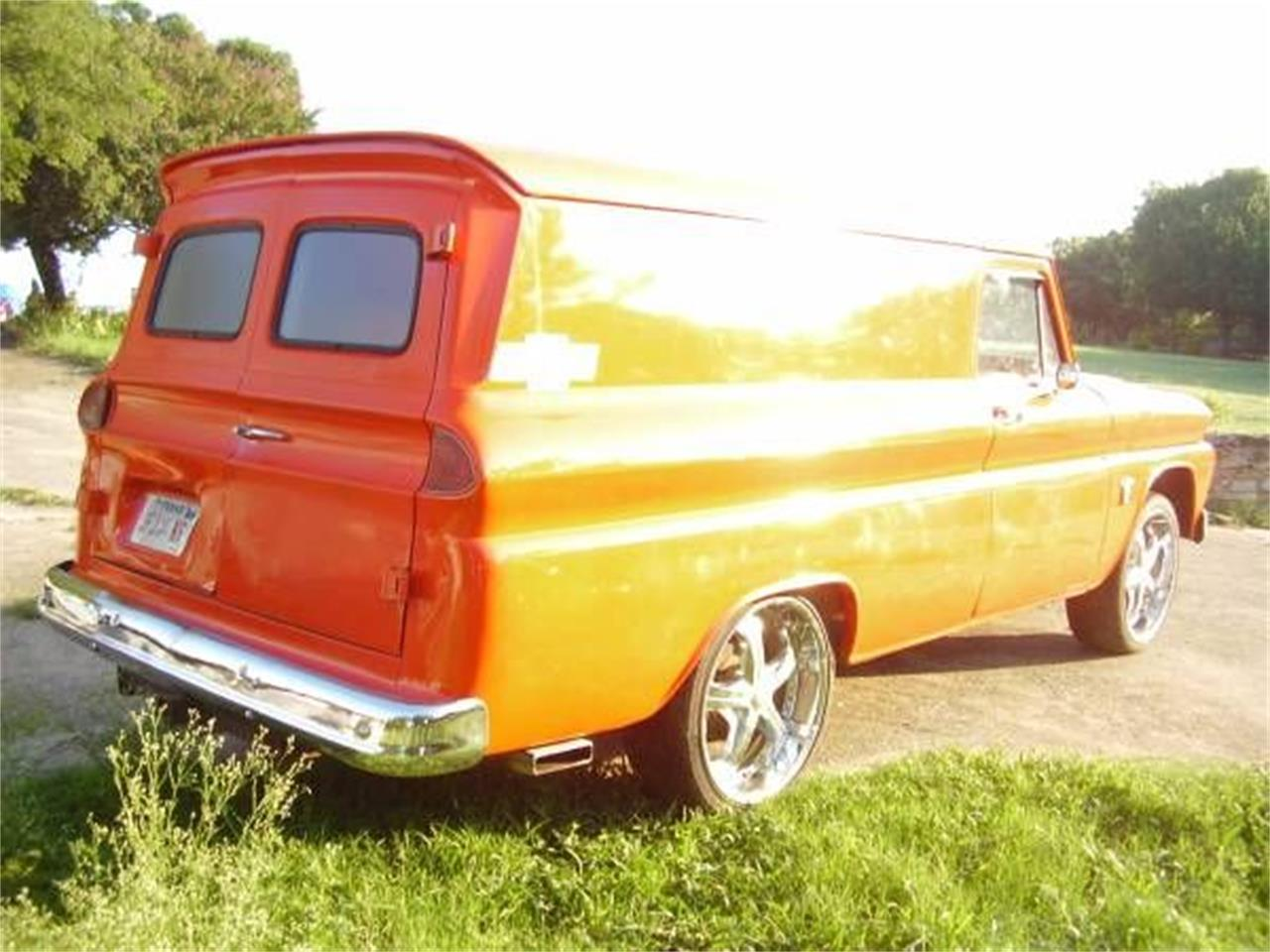 1966 Chevrolet Panel Truck For Sale Cc 1123912 Chevy C10 Door Panels Large Picture Of 66 O37s