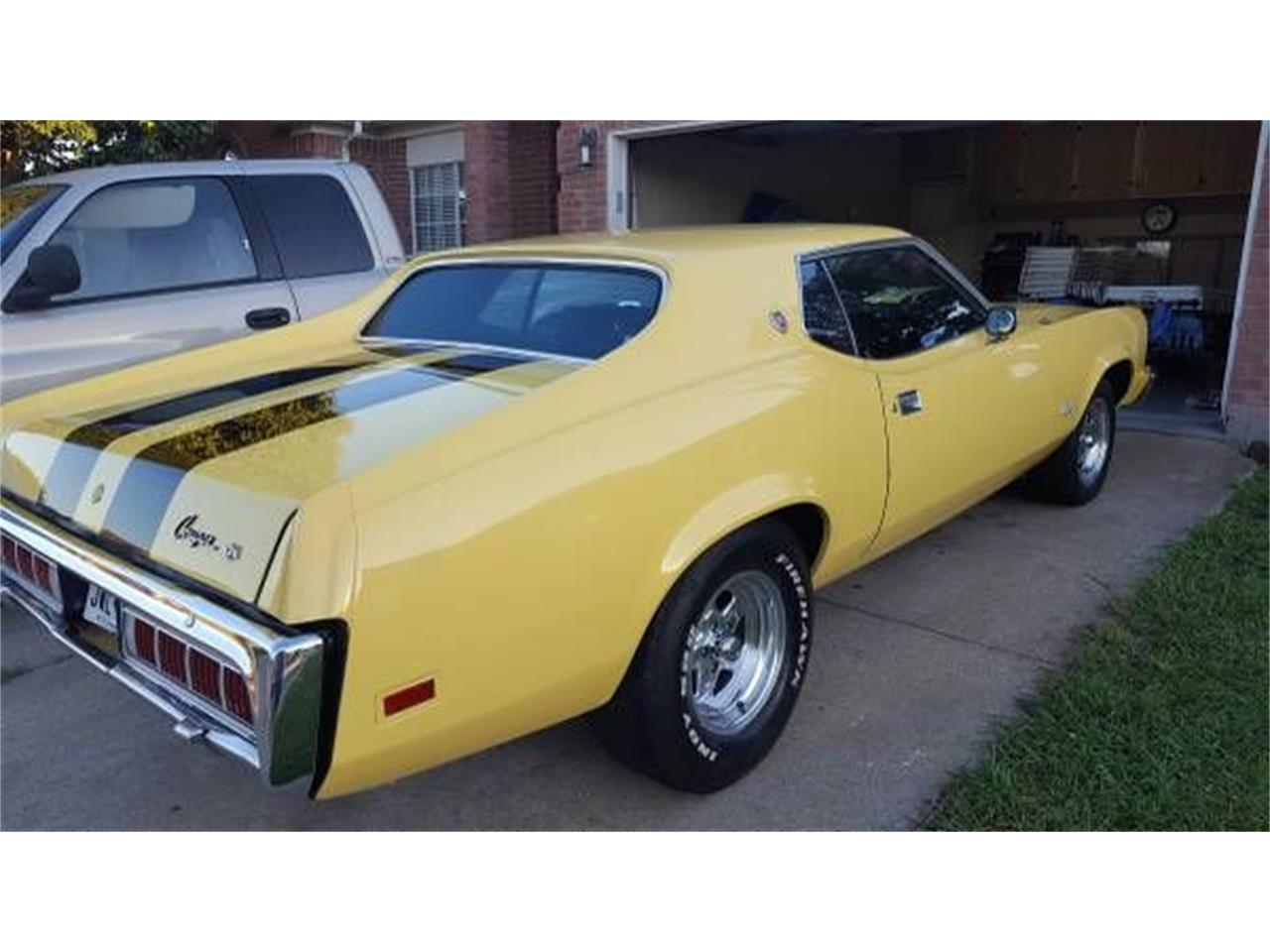 Large Picture of Classic 1973 Mercury Cougar located in Michigan Offered by Classic Car Deals - O3BD