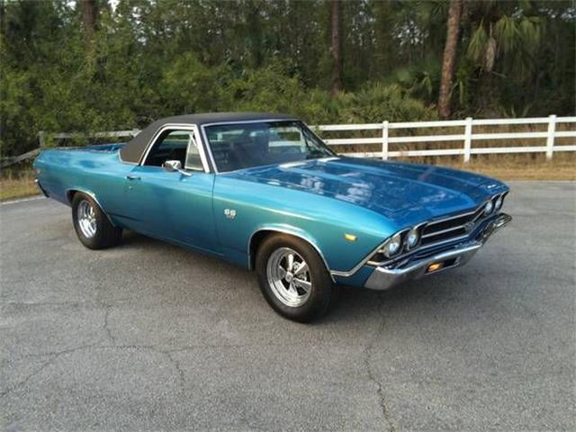 1969 Chevrolet El Camino For Sale On Classiccars Com