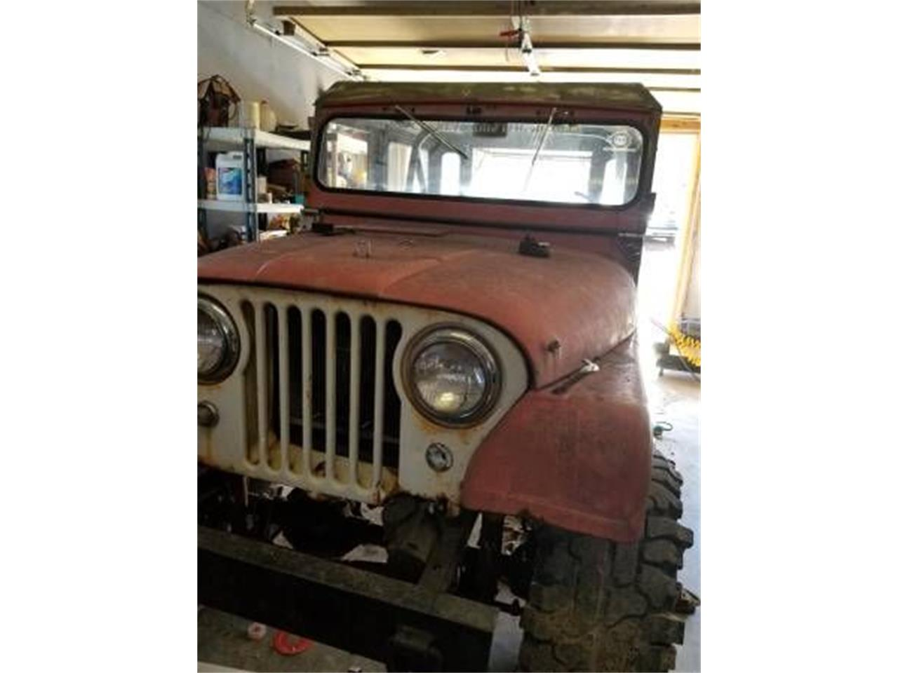 Large Picture of 1963 Jeep CJ5 located in Cadillac Michigan Offered by Classic Car Deals - O44B