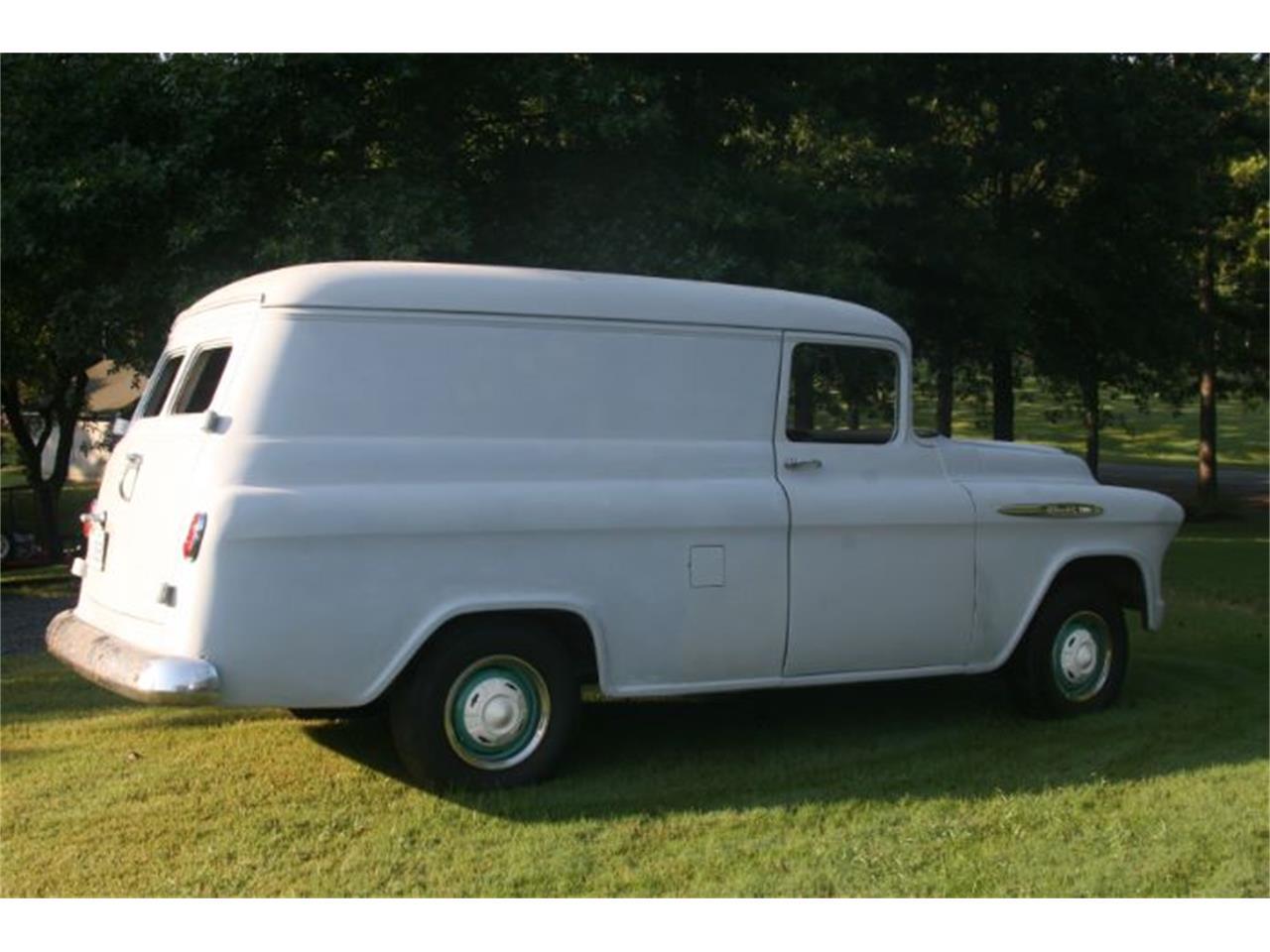 1957 Panel Truck Chevy Van Chevrolet For Sale 1280x960