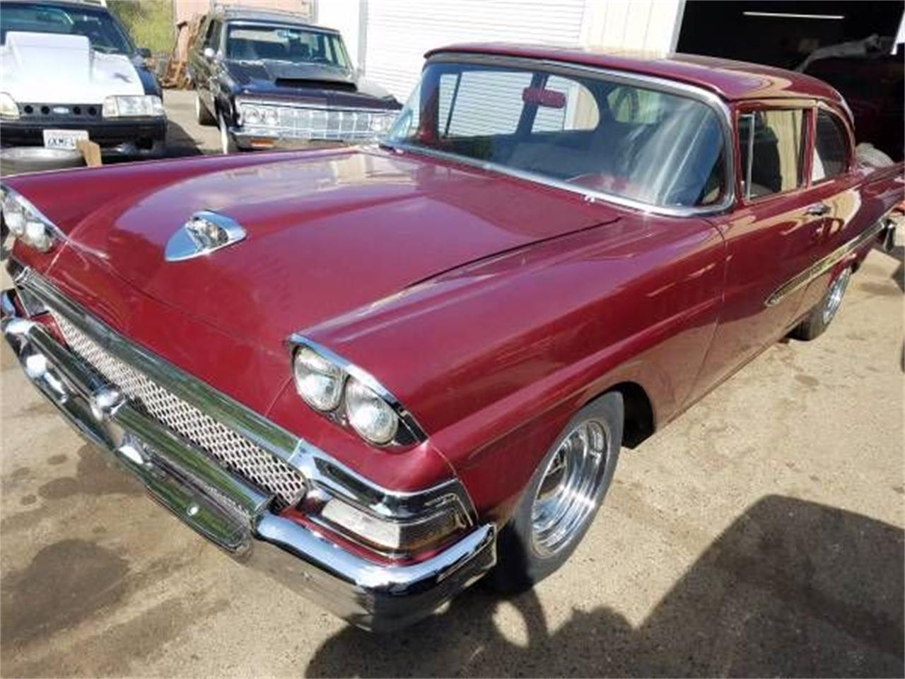 Large Picture of Classic '58 Ford Custom located in Cadillac Michigan - $26,495.00 - O0M4