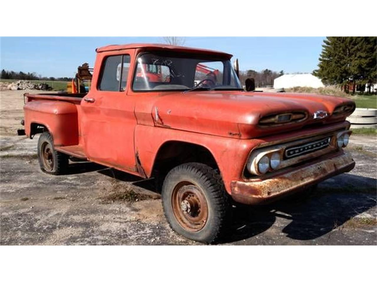 Large Picture of Classic '61 C10 located in Cadillac Michigan - O4G6