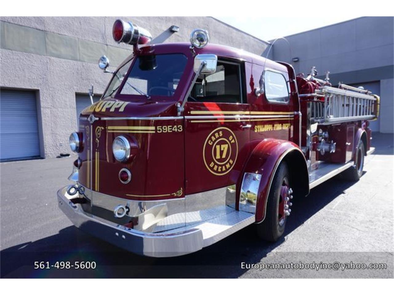 Large Picture of 1953 American LaFrance Fire Engine - O4GG