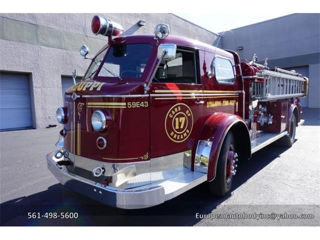 Picture of 1953 American LaFrance Fire Engine - O4GG