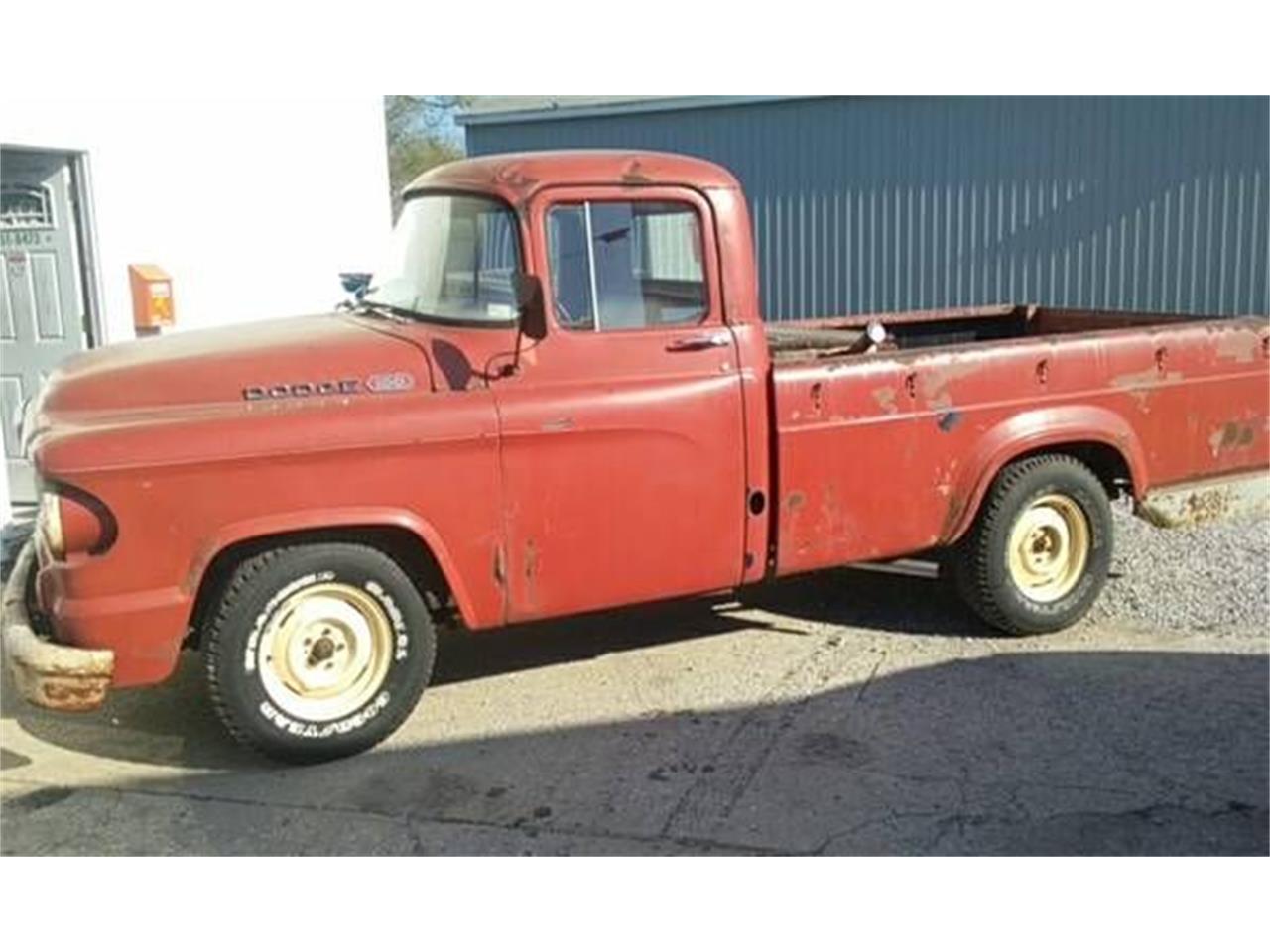 1960 Dodge Pickup For Sale Classiccars Com Cc 1126045