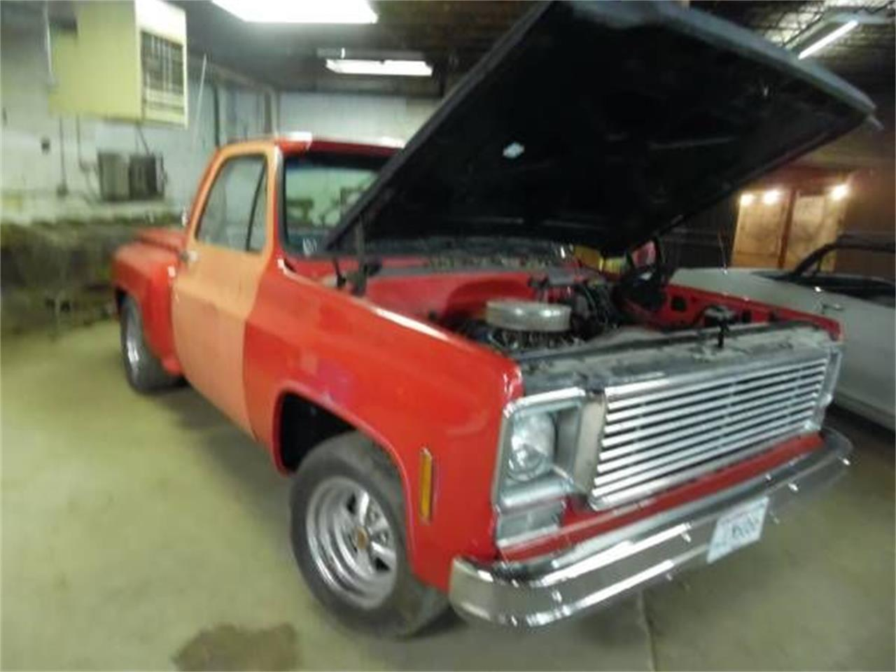 1976 Chevrolet C10 For Sale Cc 1126606 Chevy Custom Deluxe Truck In Cadillac Michigan