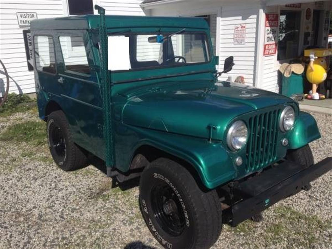 Large Picture of Classic 1962 Jeep CJ7 located in Cadillac Michigan Offered by Classic Car Deals - O0Q8