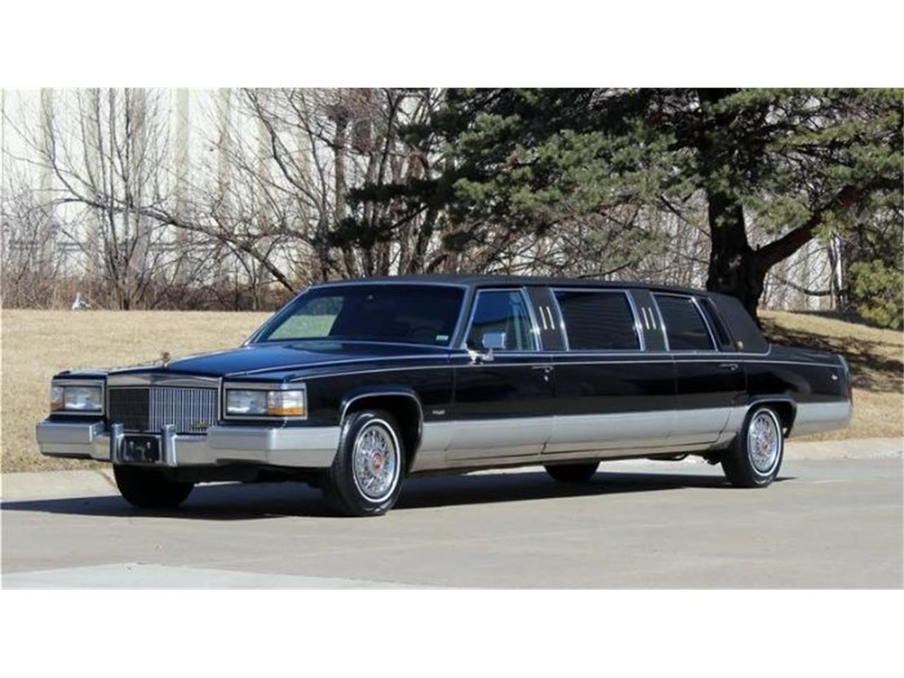 Limo For Sale >> For Sale 1990 Cadillac Limousine In Cadillac Michigan