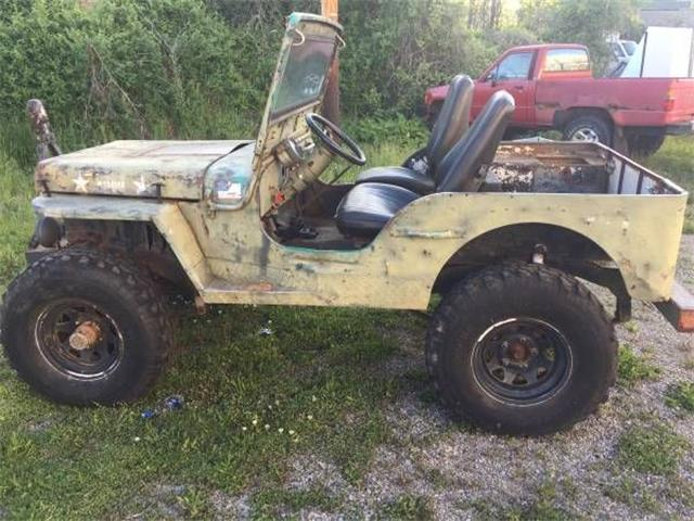 Picture of Classic 1942 Jeep Military located in Cadillac Michigan - $4,795.00 Offered by  - O5QS