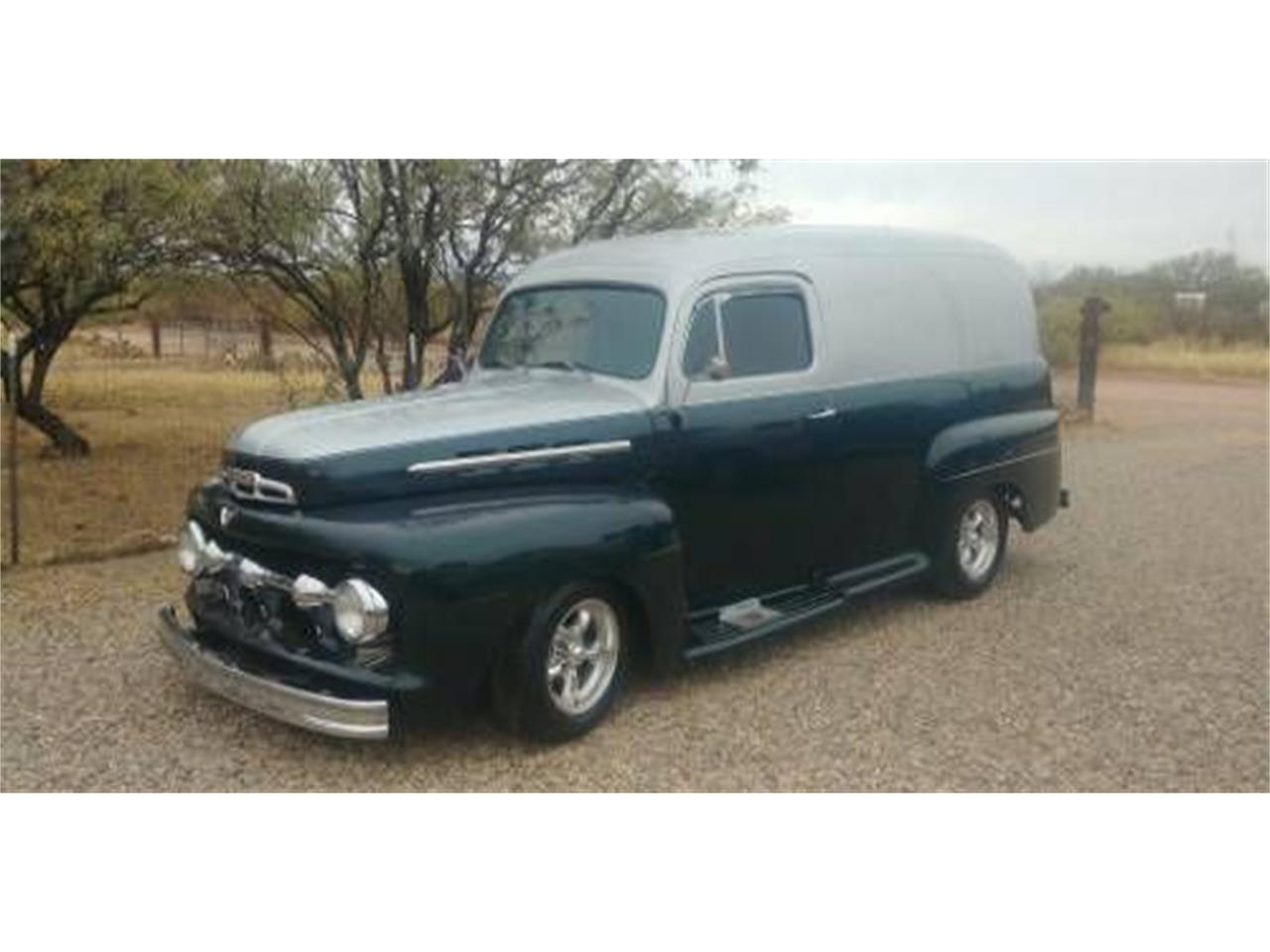 For Sale: 1951 Ford Panel Truck in Cadillac, Michigan