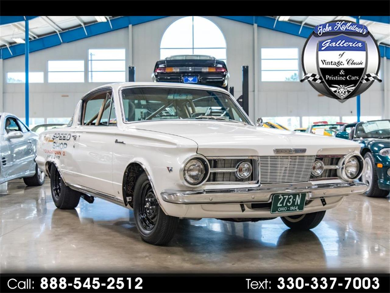 For Sale: 1964 Plymouth Barracuda in Salem, Ohio