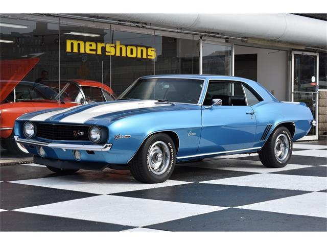 1969 chevrolet camaro z28 for sale on. Black Bedroom Furniture Sets. Home Design Ideas