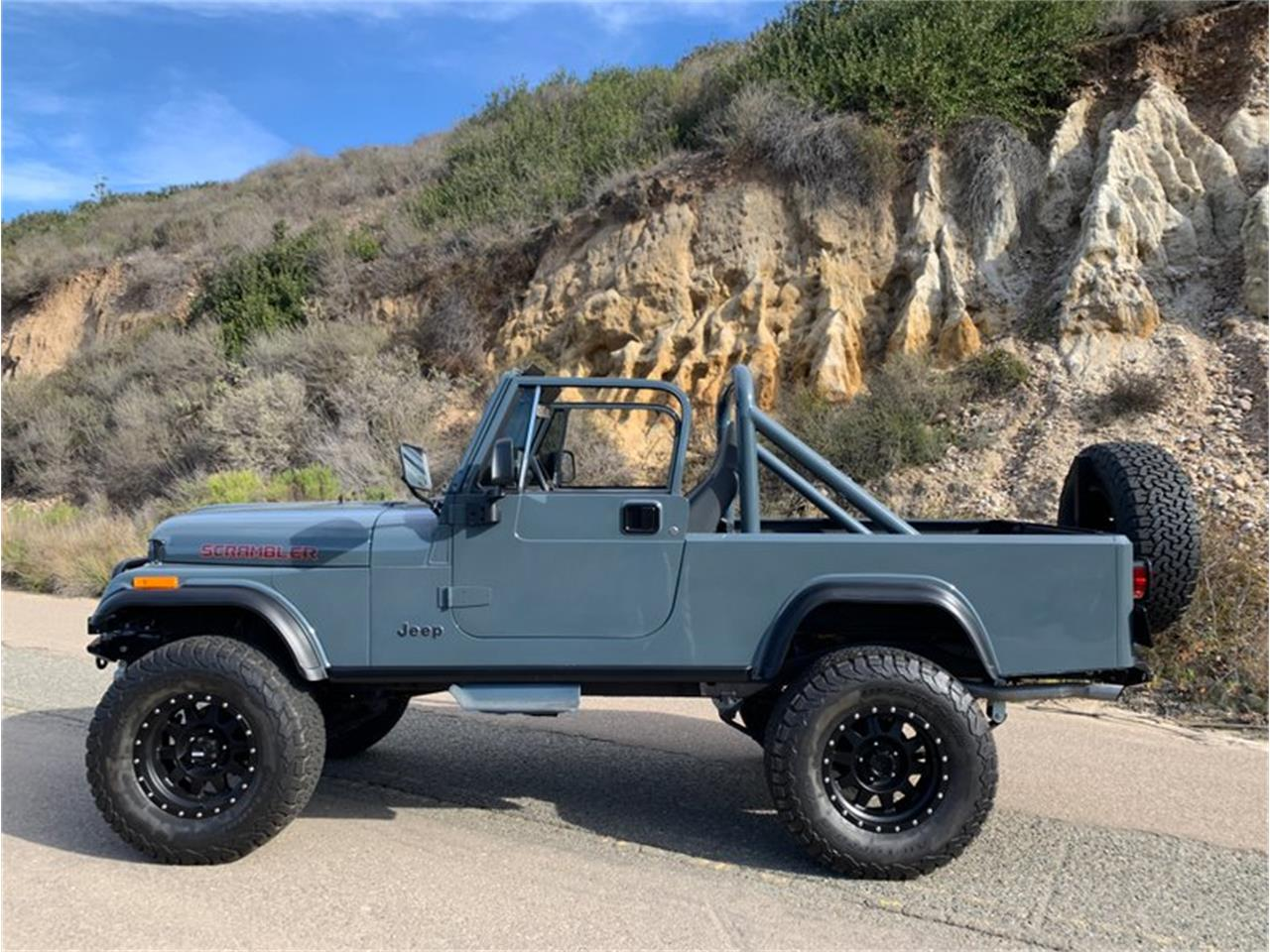 1984 jeep cj8 scrambler for sale cc. Black Bedroom Furniture Sets. Home Design Ideas