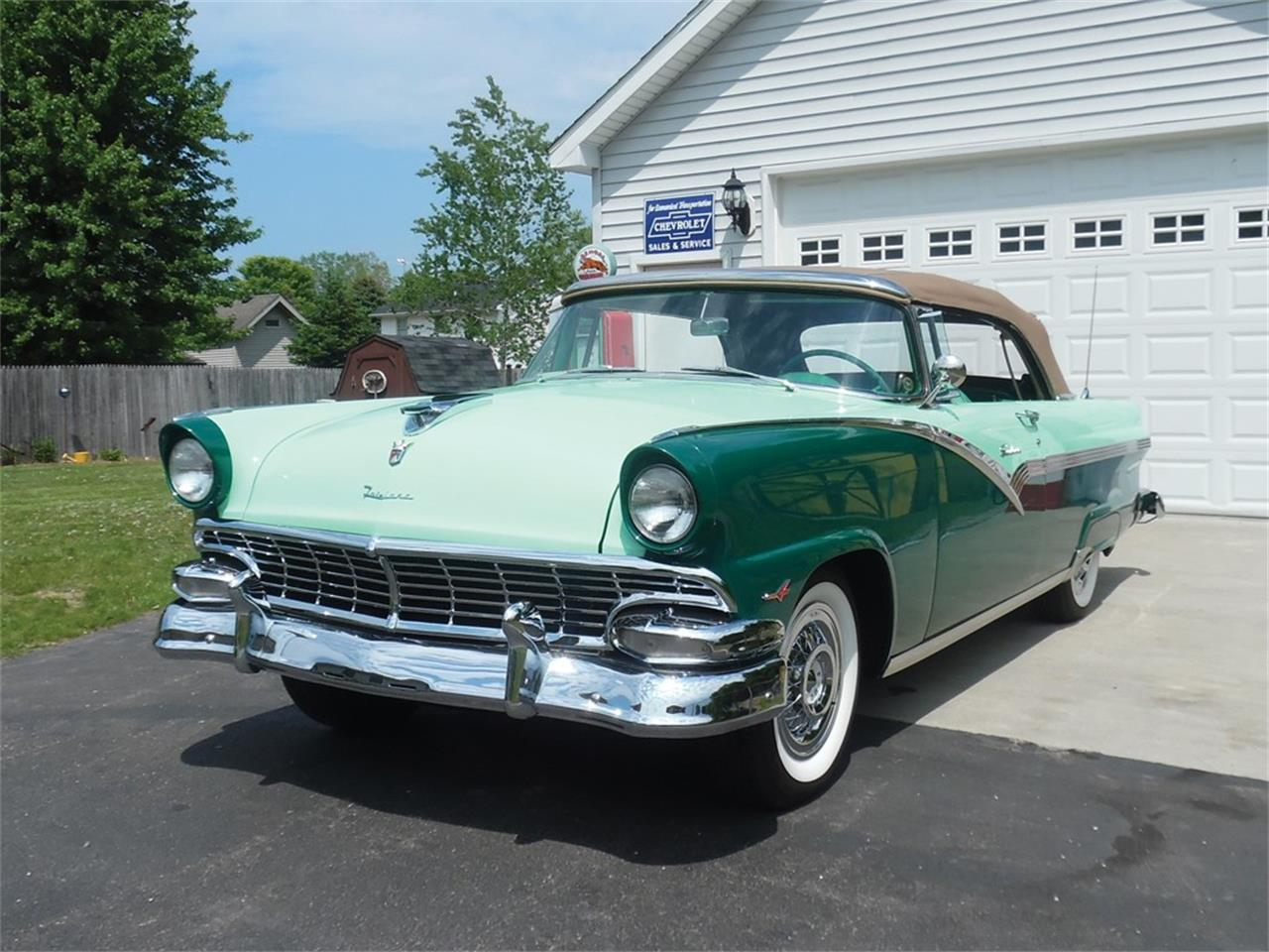 1956 ford fairlane sunliner for sale classiccars com cc 1128080 1956 Ford Crown Victoria Skyliner large picture of classic 1956 fairlane sunliner o6fk