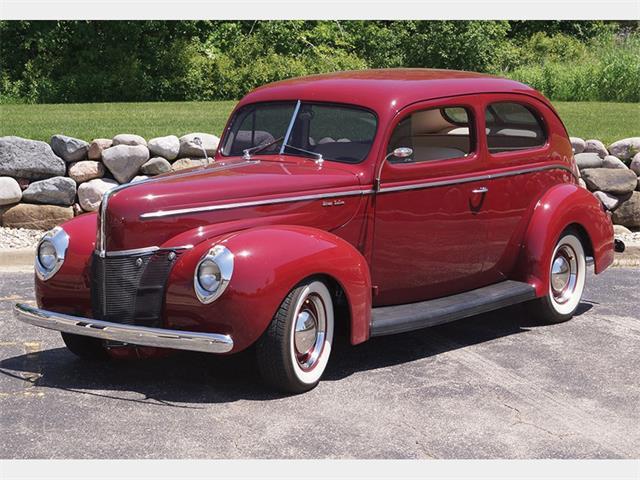 Picture of '40 DeLuxe Tudor Sedan Custom - O6GD