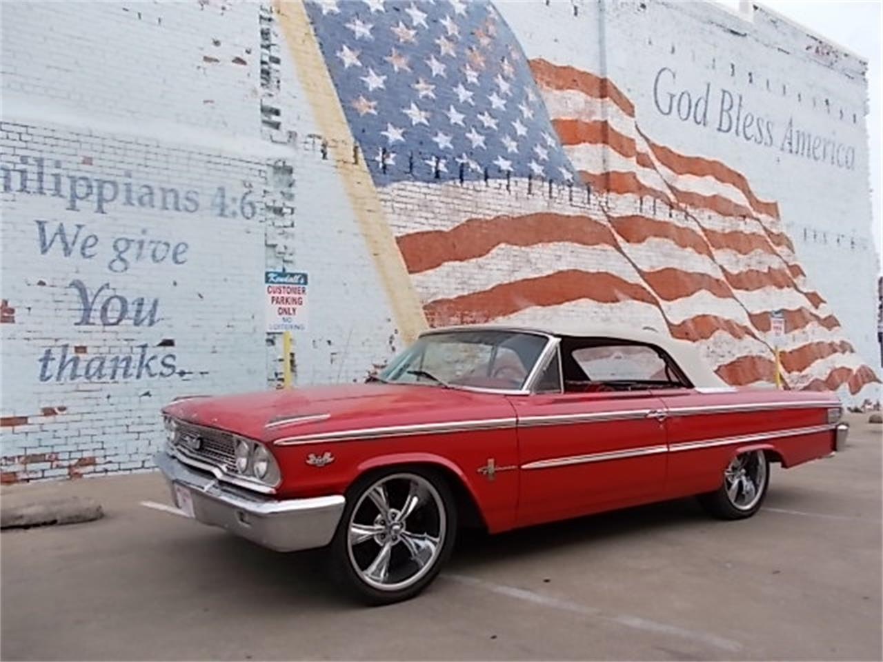 Large Picture of Classic '63 Ford Galaxie 500 XL located in Skiatook Oklahoma - O6L4