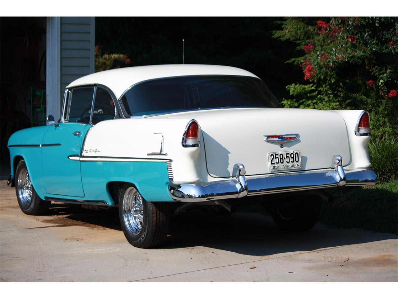 For Sale 1955 Chevrolet Bel Air In Danville Virginia