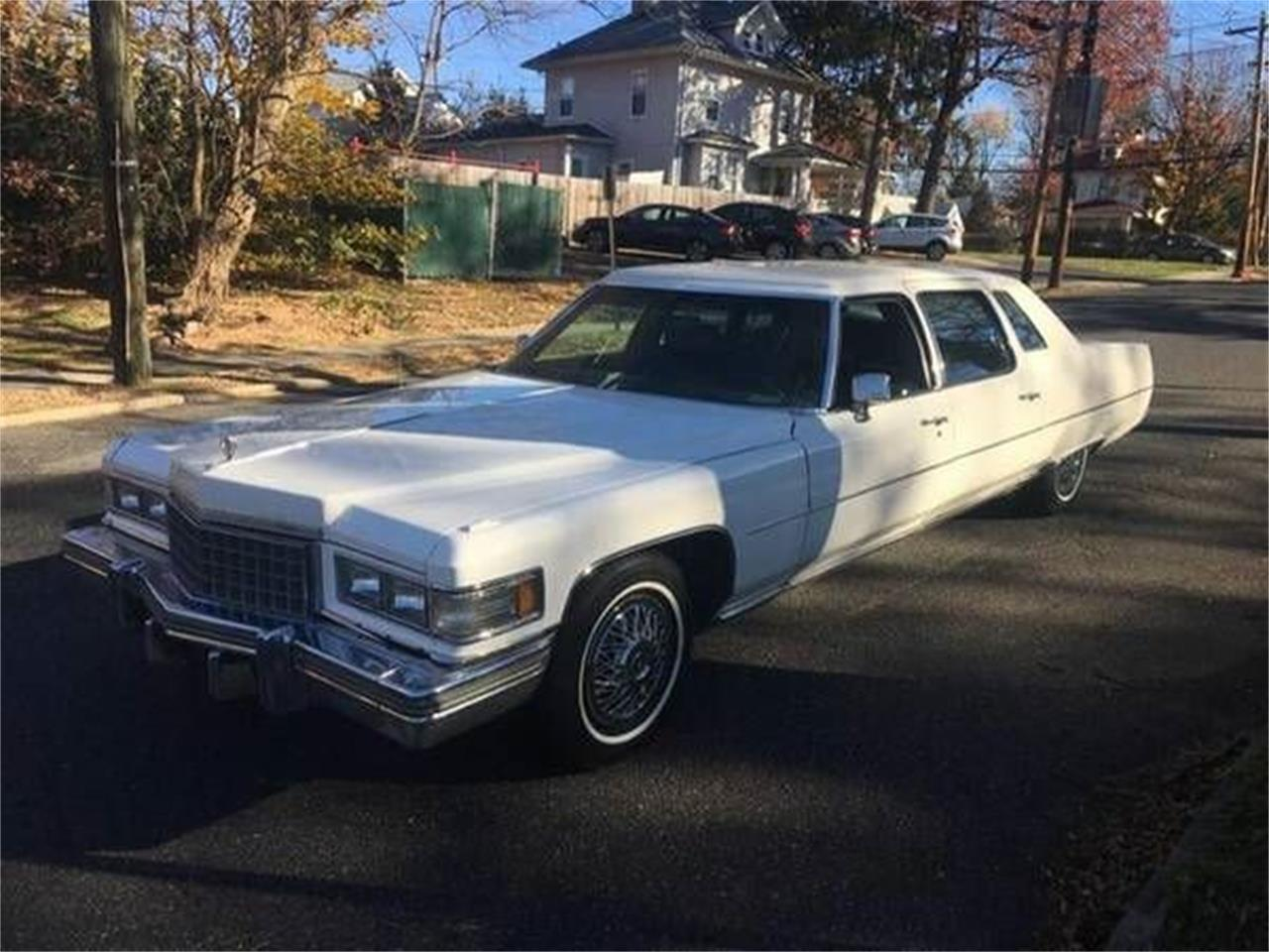 Limo For Sale >> For Sale 1976 Cadillac Limousine In Cadillac Michigan