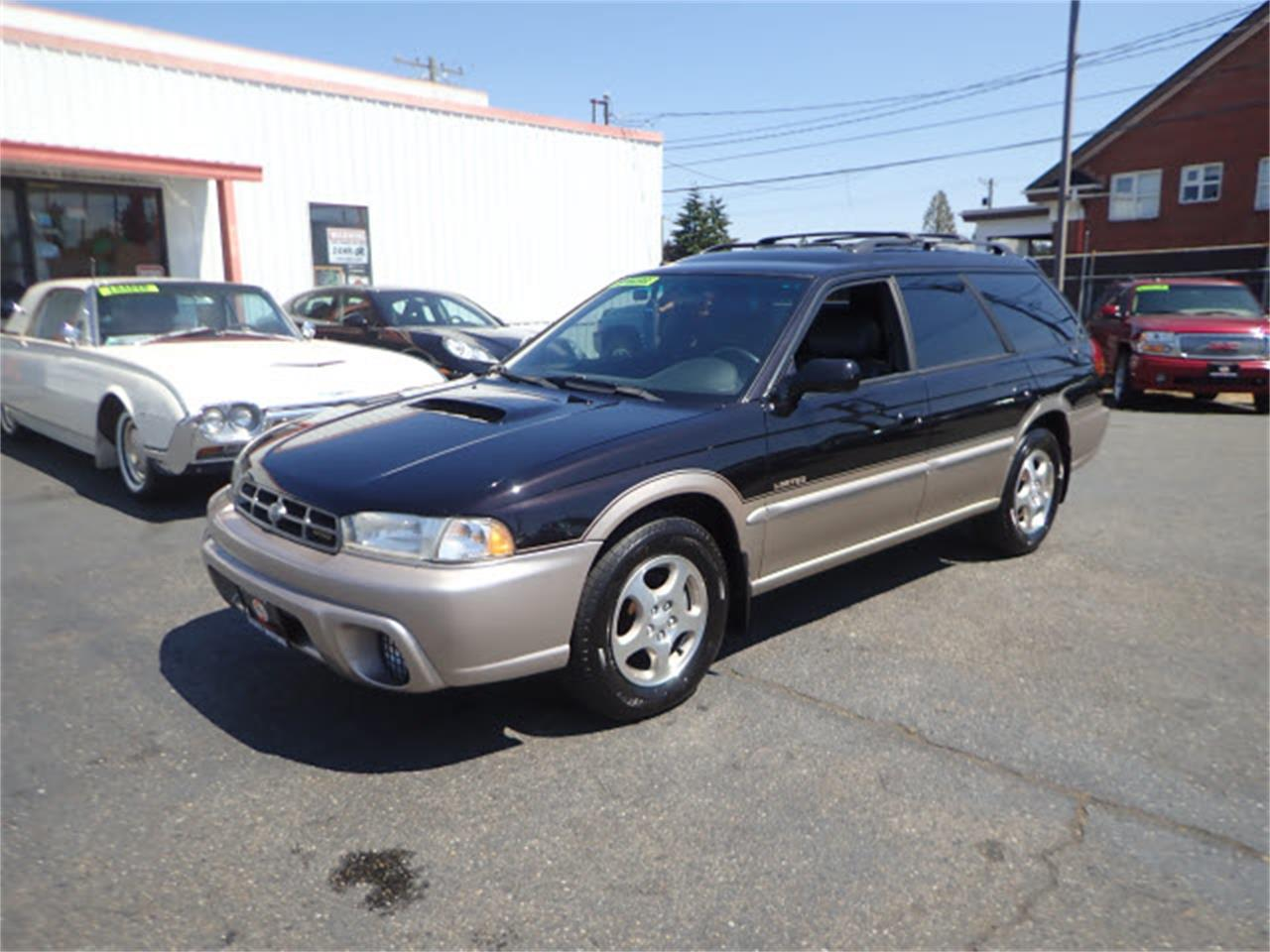 Large Picture Of 1999 Subaru Legacy