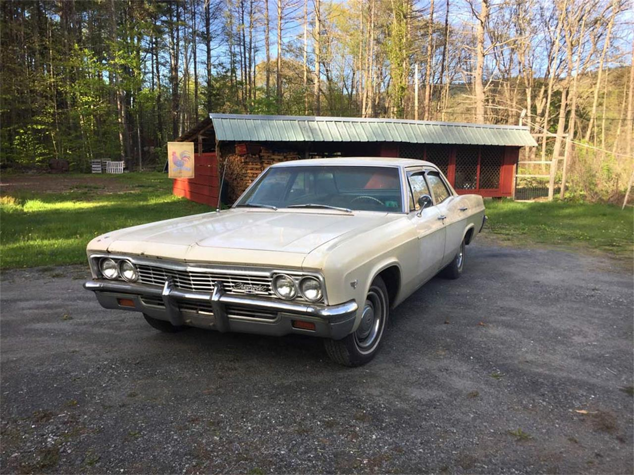 1966 Chevrolet Bel Air For Sale Cc 1128474 Large Picture Of 66 O6qi
