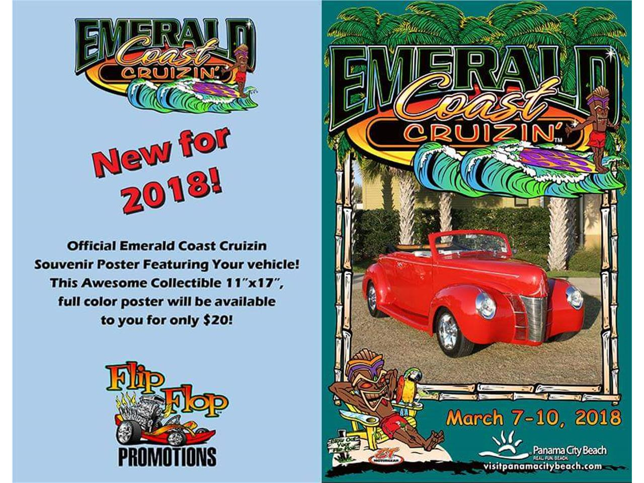 Large Picture of Classic 1940 Ford Convertible located in Panama City Beach Florida - $40,500.00 - O6UM