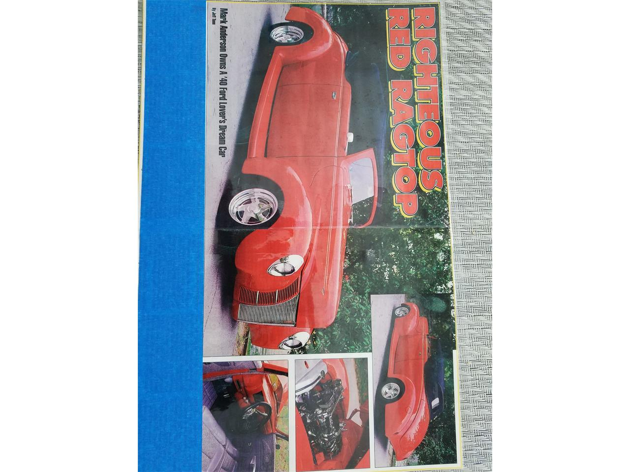 Large Picture of '40 Ford Convertible - $40,500.00 - O6UM