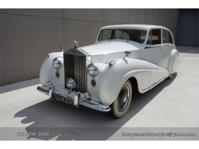 Picture of '51 Silver Wraith - O724