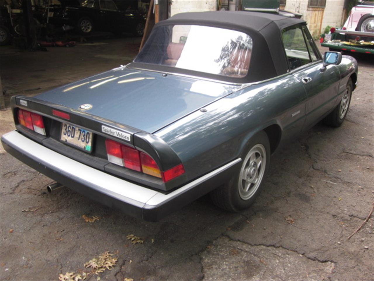 Large Picture of '87 Alfa Romeo 2000 Spider Veloce - $14,900.00 Offered by The New England Classic Car Co. - O72H