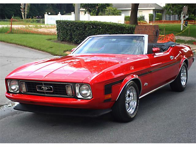 Picture of Classic '73 Ford Mustang located in Lakeland Florida - $21,500.00 Offered by  - O78J