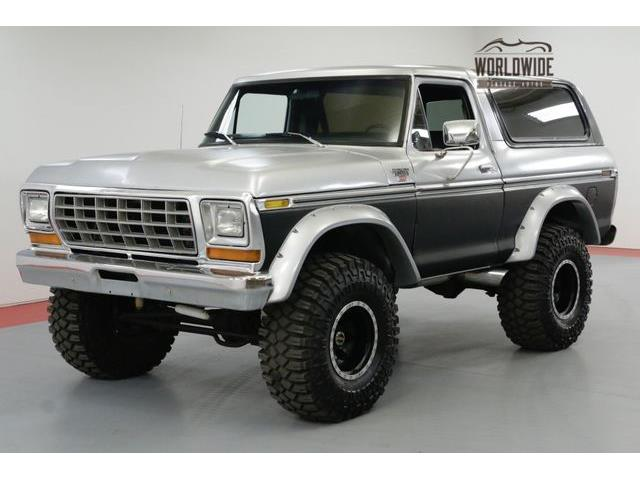 1978 ford bronco for sale on. Black Bedroom Furniture Sets. Home Design Ideas