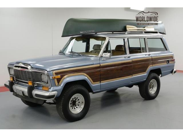 Picture of '85 Grand Wagoneer - O7BZ