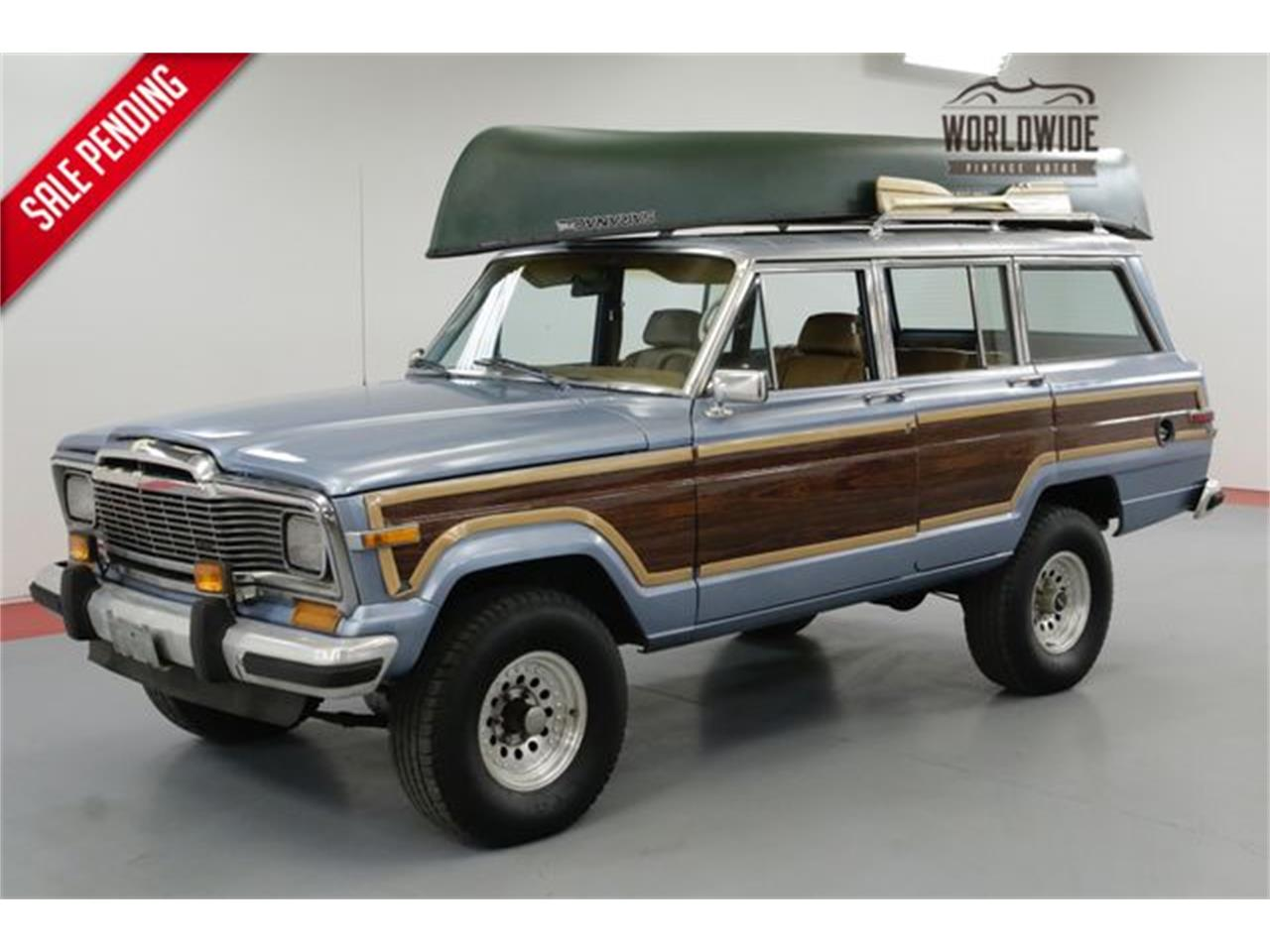 Jeep Grand Wagoneer >> 1985 Jeep Grand Wagoneer For Sale Classiccars Com Cc 1129247