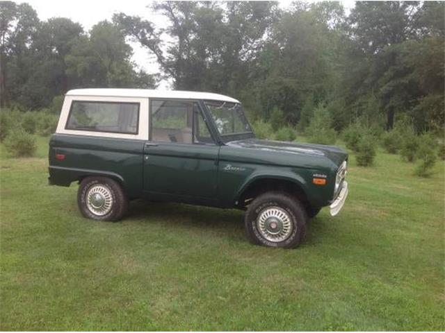 1971 Ford Bronco For Sale On ClassicCars.com