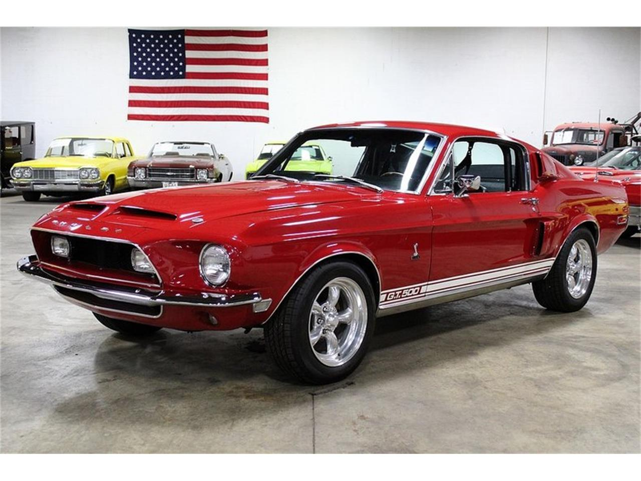 68 Shelby Gt500 >> 1968 Shelby Gt500 For Sale Classiccars Com Cc 1129250