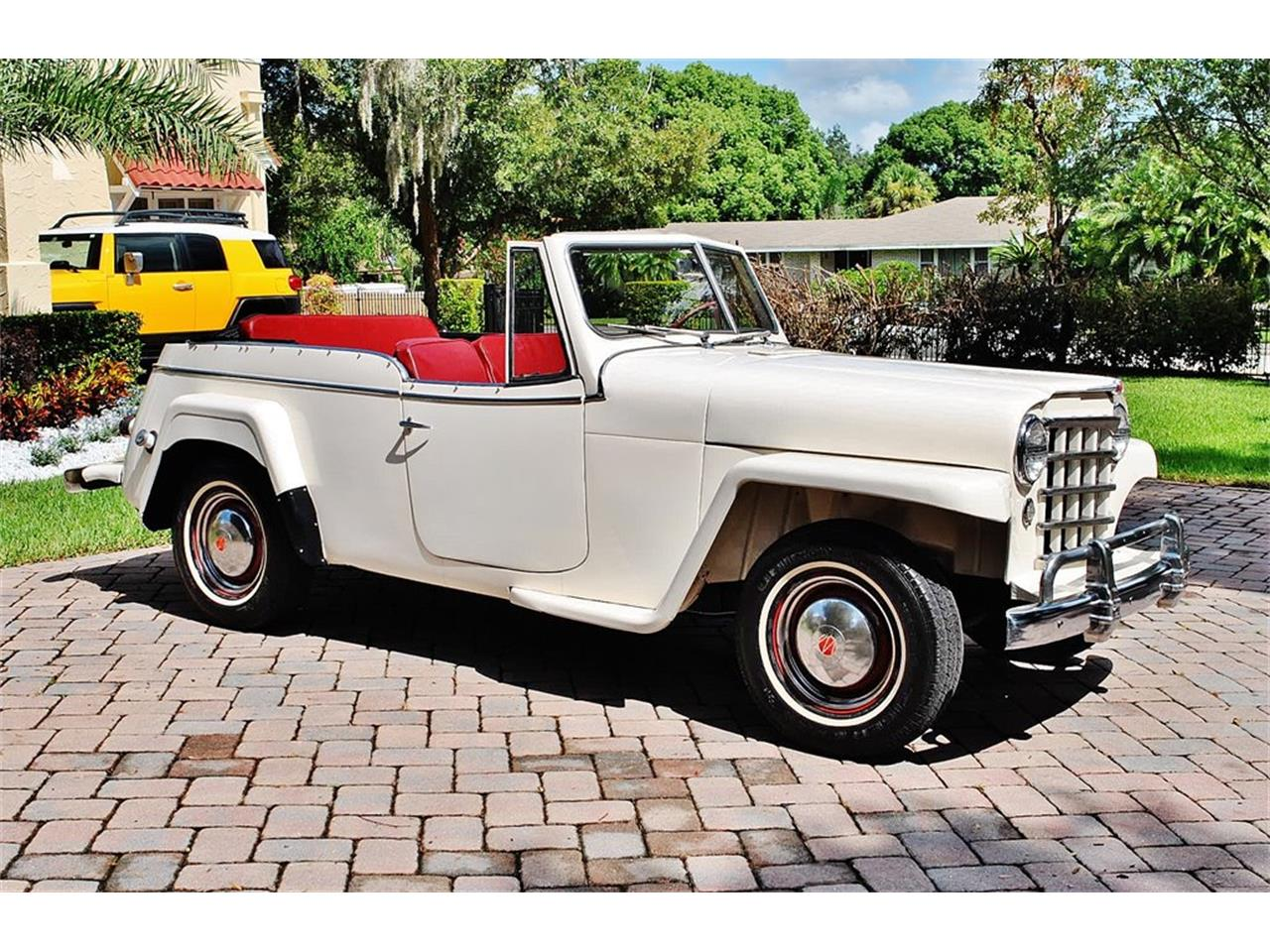 Large Picture of 1950 Jeepster located in Florida Offered by Primo Classic International LLC - O7F5