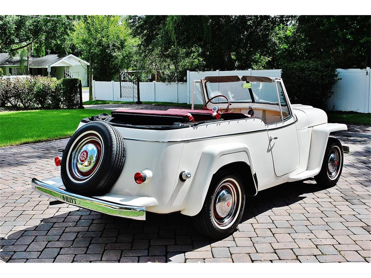 Large Picture of Classic '50 Jeepster located in Florida Offered by Primo Classic International LLC - O7F5