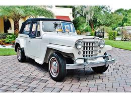 Picture of Classic '50 Willys Jeepster located in Lakeland Florida - $24,900.00 Offered by Primo Classic International LLC - O7F5