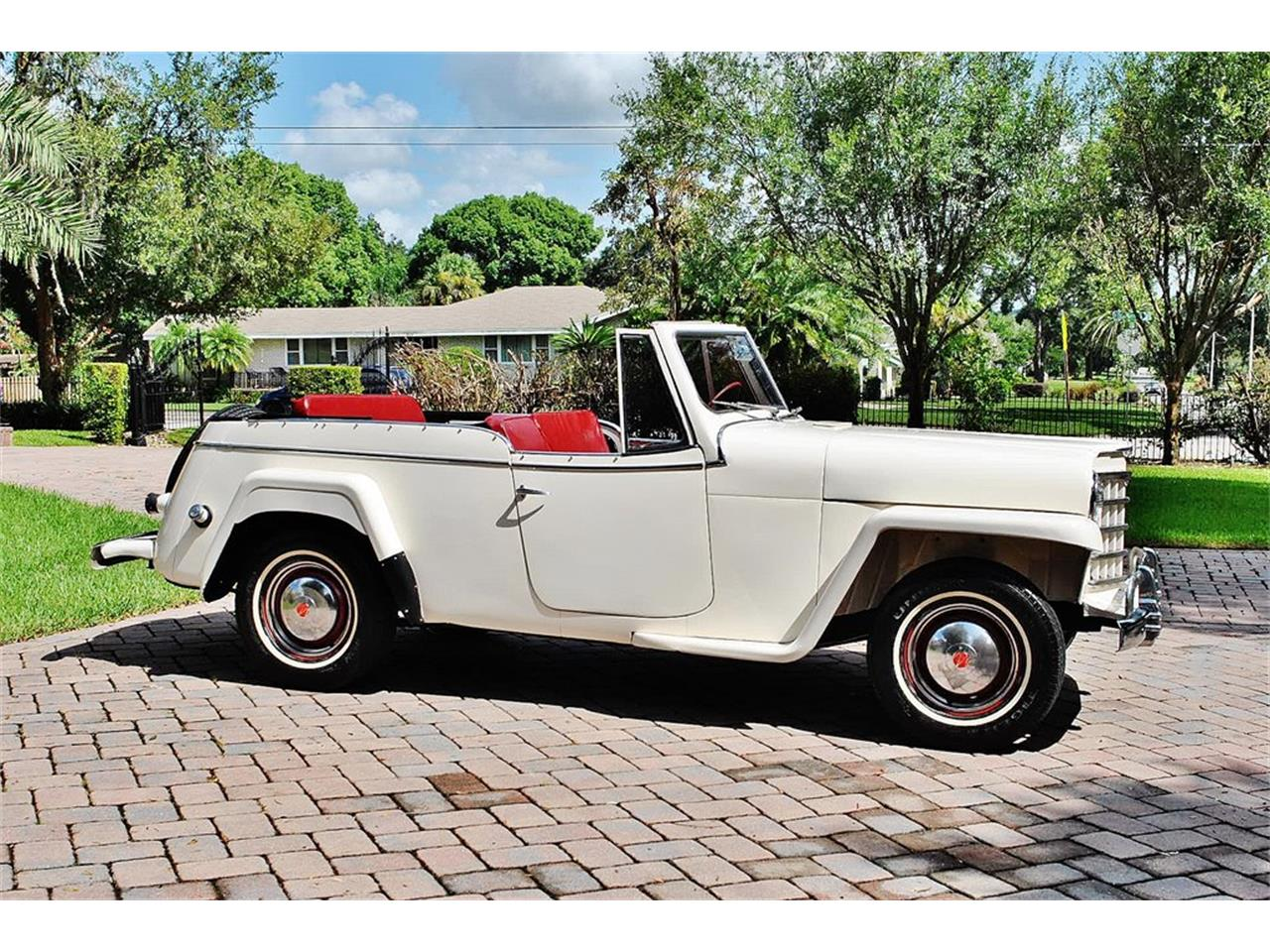 Large Picture of '50 Willys Jeepster located in Lakeland Florida - O7F5