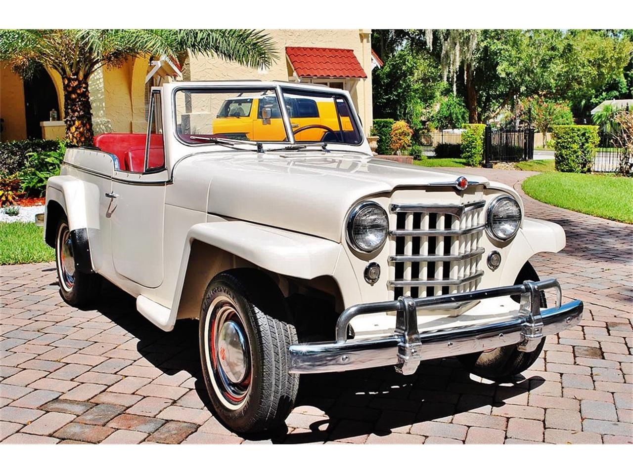 Large Picture of 1950 Willys Jeepster located in Lakeland Florida - O7F5