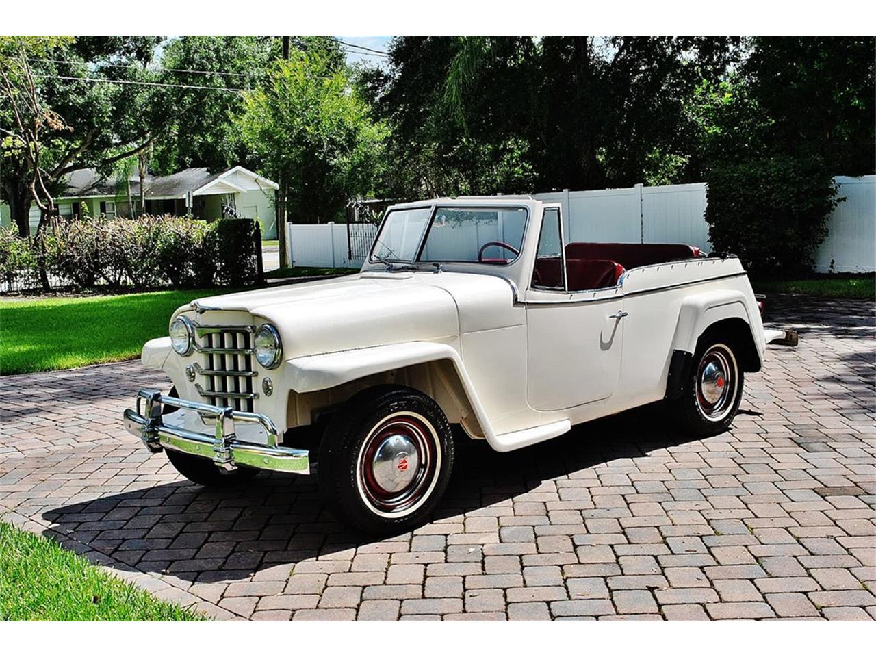 Large Picture of Classic 1950 Jeepster located in Florida - $24,900.00 Offered by Primo Classic International LLC - O7F5