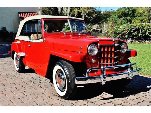 Picture of 1950 Willys Jeepster located in Florida Offered by  - O7F6