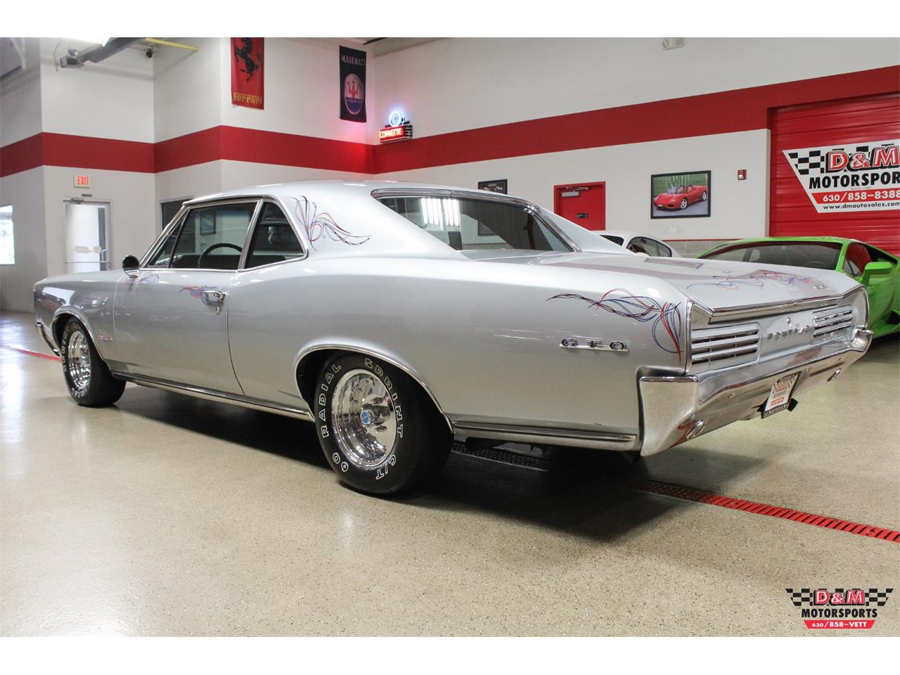 Large Picture of '66 GTO located in Illinois Offered by D & M Motorsports - O7FS