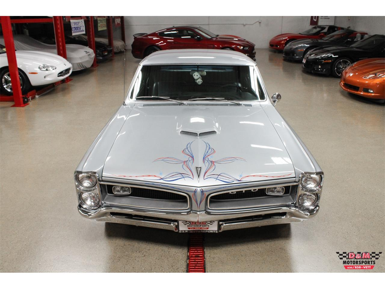 Large Picture of Classic '66 Pontiac GTO located in Glen Ellyn Illinois - O7FS
