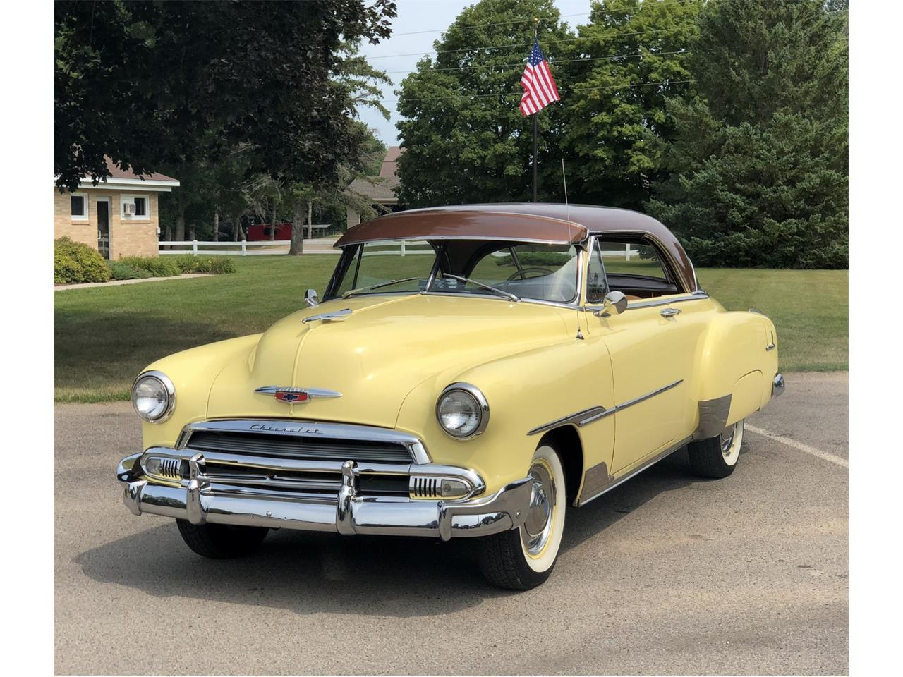 1951 Chevrolet Bel Air For Sale Cc 1131060 2 Door Hardtop Large Picture Of 2195000 Offered By Silver Creek Classics O8qc