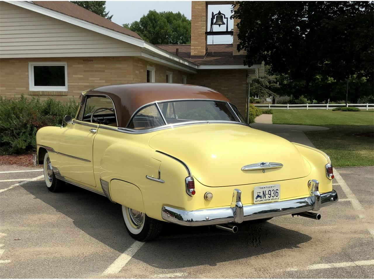 1951 Chevrolet Bel Air For Sale Cc 1131060 4 Door Large Picture Of 51 O8qc