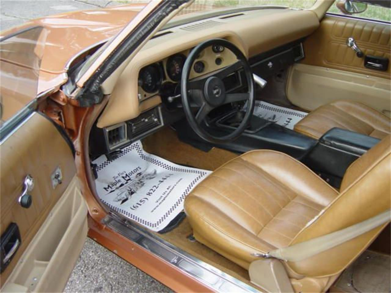 Large Picture of '77 Camaro Z28 located in Hendersonville Tennessee Offered by Maple Motors - O8RI
