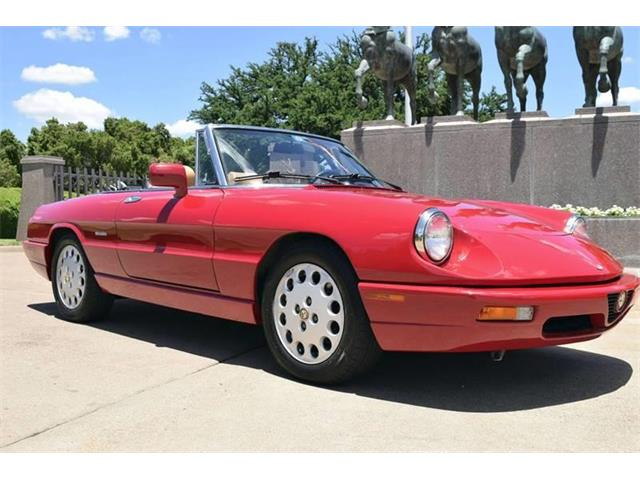 Picture of '94 Alfa Romeo Spider located in Texas - $14,900.00 Offered by  - O8WP