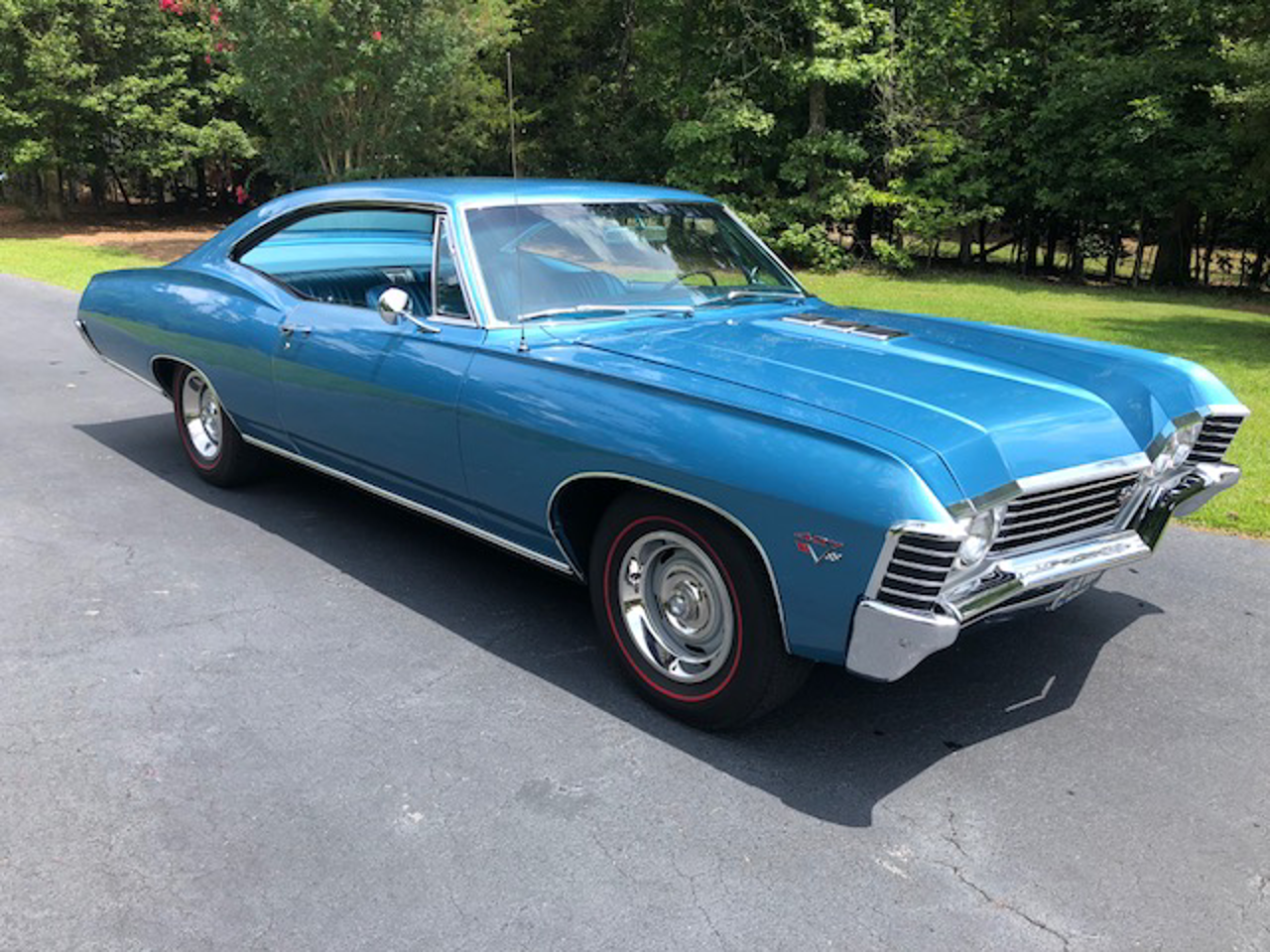 1967 chevrolet impala ss427 for sale